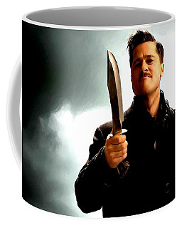 Brad Pitt @ Inglourious Basterds By Tarantino Coffee Mug