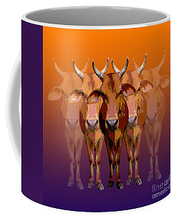 Brahman Cow Coffee Mug