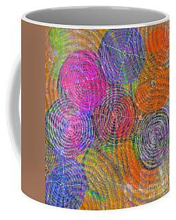Brain Waves Mixed Media Coffee Mugs