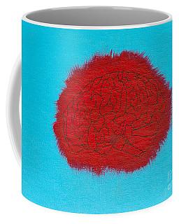 Brain Red Coffee Mug