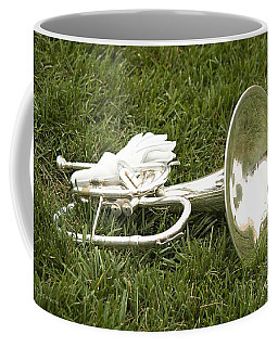 Coffee Mug featuring the photograph Brass In Grass by Carol Lynn Coronios