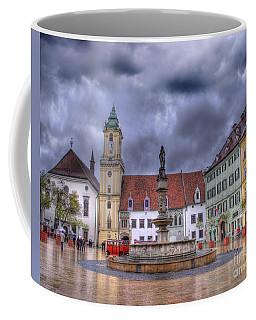 Bratislava Old Town Hall Coffee Mug by Juli Scalzi