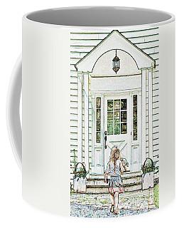 Brave Determination Coffee Mug by Lilliana Mendez