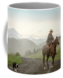 Braving The Rain Coffee Mug