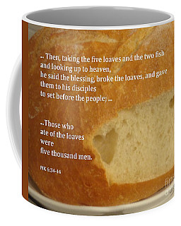 Bread  From The Heart Coffee Mug