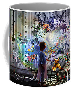 Break Through Coffee Mug