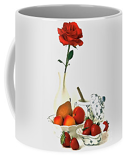 Coffee Mug featuring the photograph Breakfast For Lovers by Elf Evans