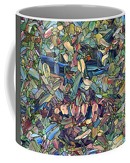 Coffee Mug featuring the painting Breaking Rank by James W Johnson