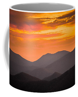 Breathtaking Blue Ridge Sunset 3 Coffee Mug