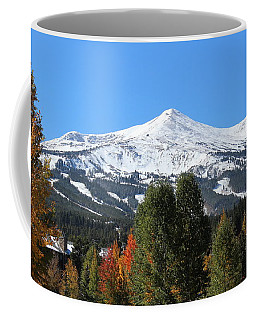 Breckenridge Colorado Coffee Mug by Fiona Kennard
