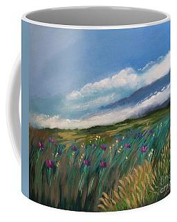 Breezy Day At Mauna Kea Coffee Mug
