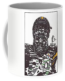 Brett Keisel 2 Coffee Mug by Jeremiah Colley