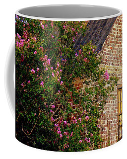 Coffee Mug featuring the photograph Brick And Myrtle by Rodney Lee Williams