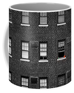 Brick Wall And Windows Coffee Mug