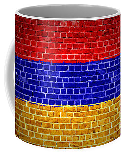 Brick Wall Armenia Coffee Mug