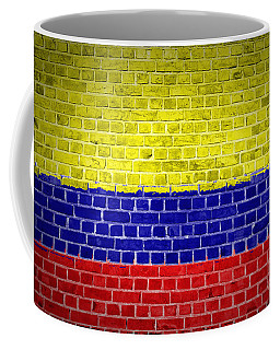 Brick Wall Colombia Coffee Mug