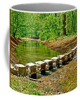 Bridge Across Colbert Creek At Mile 330 Of Natchez Trace Parkway-alabama Coffee Mug