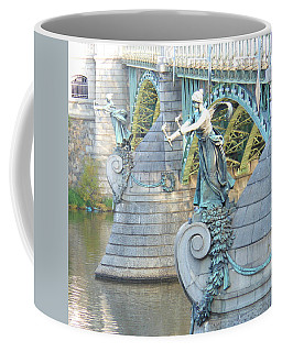 Bridge Adornment In Prague Coffee Mug by Kay Gilley