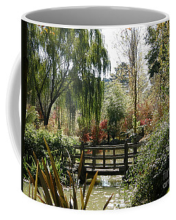 Bridge At Red Cow Farm Coffee Mug by Bev Conover