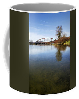 Coffee Mug featuring the photograph Bridge At Upper Lisle by Christina Rollo