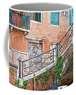 Bridge In Venice Coffee Mug