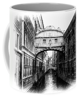 Bridge Of Sighs Pencil Coffee Mug