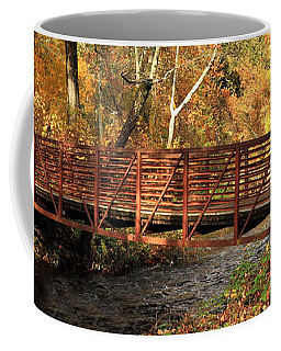 Bridge On Big Chico Creek Coffee Mug by James Eddy