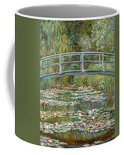 Bridge Over A Pond Of Water Lilies Coffee Mug