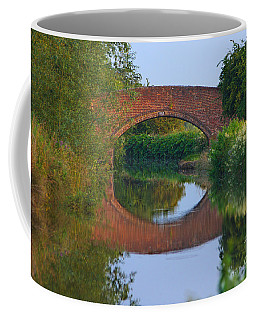 Bridge Over The Canal Coffee Mug