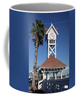 Coffee Mug featuring the photograph Bridge Street Pier And Clocktower  by Christiane Schulze Art And Photography