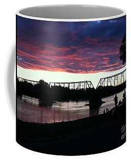 Bridge Sunset In June Coffee Mug