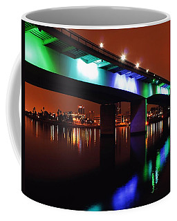 Bridge To Long Beach Coffee Mug