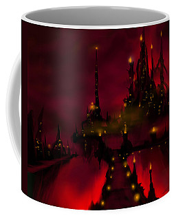 Bridge To Red Castle Coffee Mug