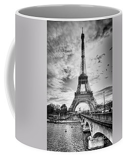 Bridge To The Eiffel Tower Coffee Mug