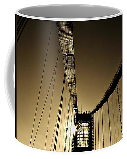 Bridge Work Coffee Mug by Robert Geary
