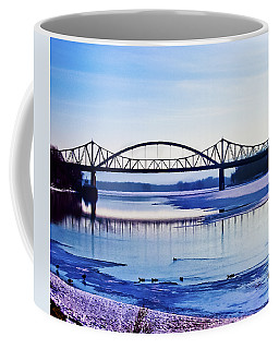 Bridges Over The Mississippi Coffee Mug