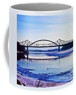Bridges Over The Mississippi Coffee Mug