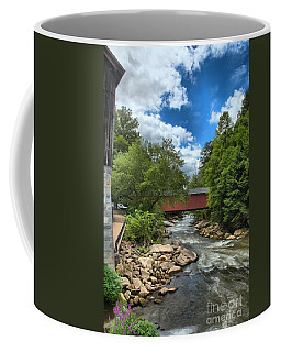 Bridging Slippery Rock Creek Coffee Mug