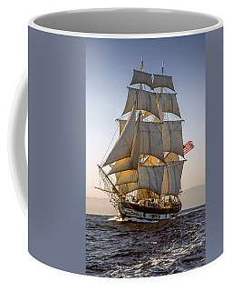 Brig Pilgrim Off Santa Barbara Coffee Mug