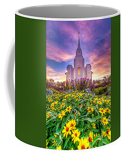 Coffee Mug featuring the photograph Brigham City Temple by Dustin  LeFevre