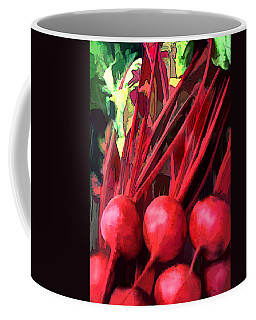Bright Red Beets Coffee Mug