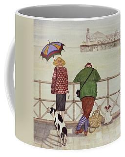Brighton Pier, 1986 Watercolour On Paper Coffee Mug