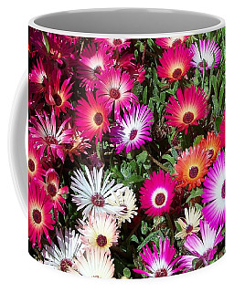 Coffee Mug featuring the photograph Brilliant Flowers by Chalet Roome-Rigdon