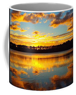 Coffee Mug featuring the photograph Brilliant Sunrise by Dianne Cowen