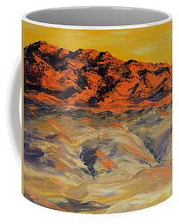 Brilliant Montana Mountains And Foothills Coffee Mug