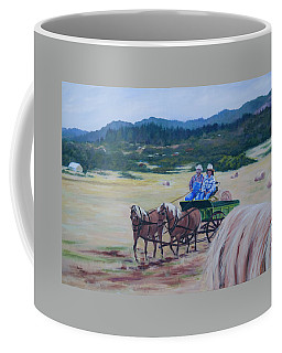 Bringing In The Harvest Coffee Mug