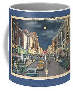 Bristol At Night In The 1940's Coffee Mug