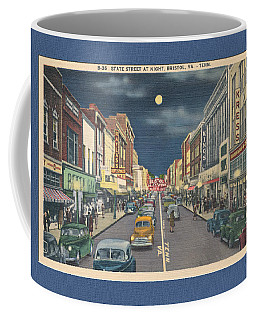Bristol At Night In The 1940's Coffee Mug