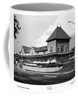 Bristol Train Station Bw Coffee Mug