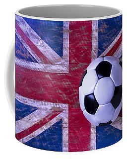 British Flag And Soccer Ball Coffee Mug